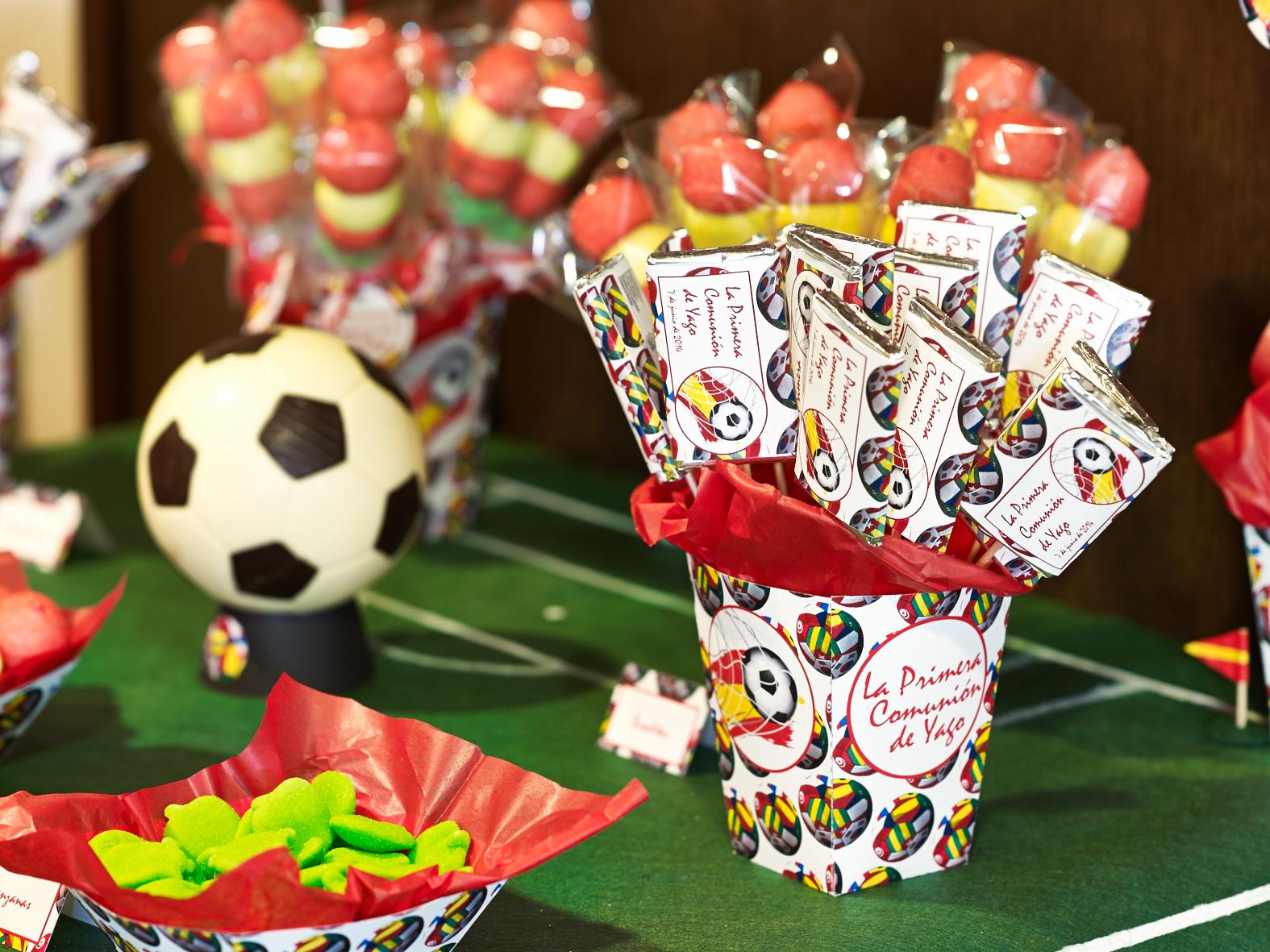 decoracin para comunin y fiestas de cumpleaos futbol