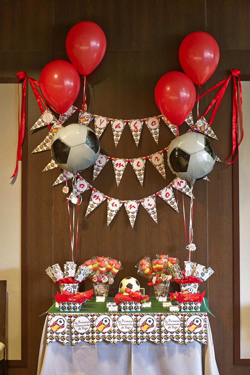 Comuniones celebralobonito banderines y decoraci n para for Decoracion de cumpleanos